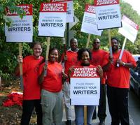 House of Payne WGA Picket Line