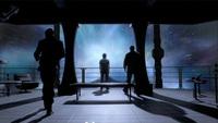 Stargate Universe; Destiny observation deck.