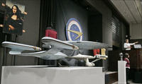 Enterprise D model created by Industrial <br/>Light and Magic for Star Trek: The Next <br/>Generation. (Source)