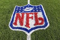 NFL Logo on a field