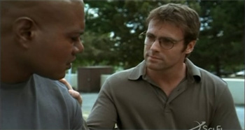 Chris Judge and Michael Shanks