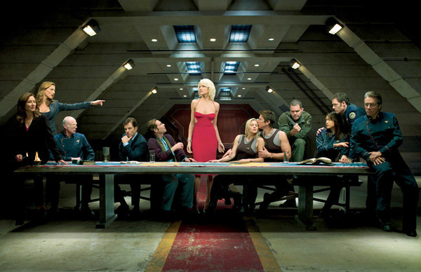 BSG: The Last Supper spoof