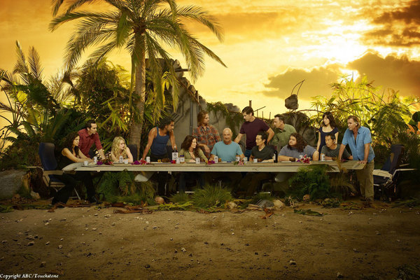 Lost: The Last Supper spoof