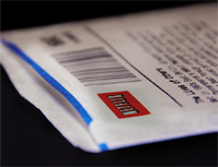 Netflix paper sleeve (http://www.flickr.com/photos/billselak/2370729798/)