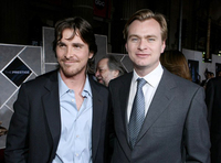 Director Christopher Nolan and actor Christian Bale