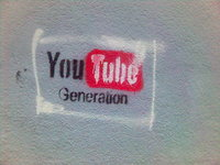 YouTube logo grafitti (source)