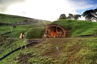 Matamata, New Zezland, on the set of The Hobbit.