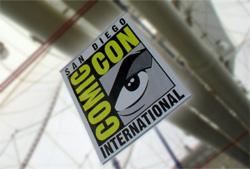 Comic Con sign