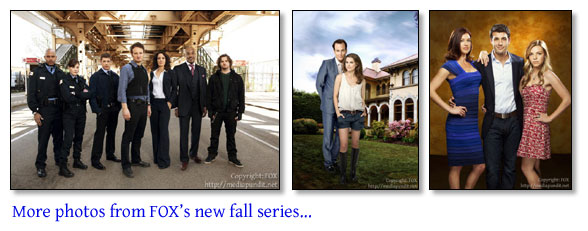 FOX 2010 fall lineup press photos